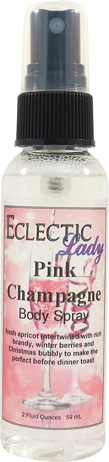 Pink Champagne Body Spray, 2 ounces Eclectic Lady