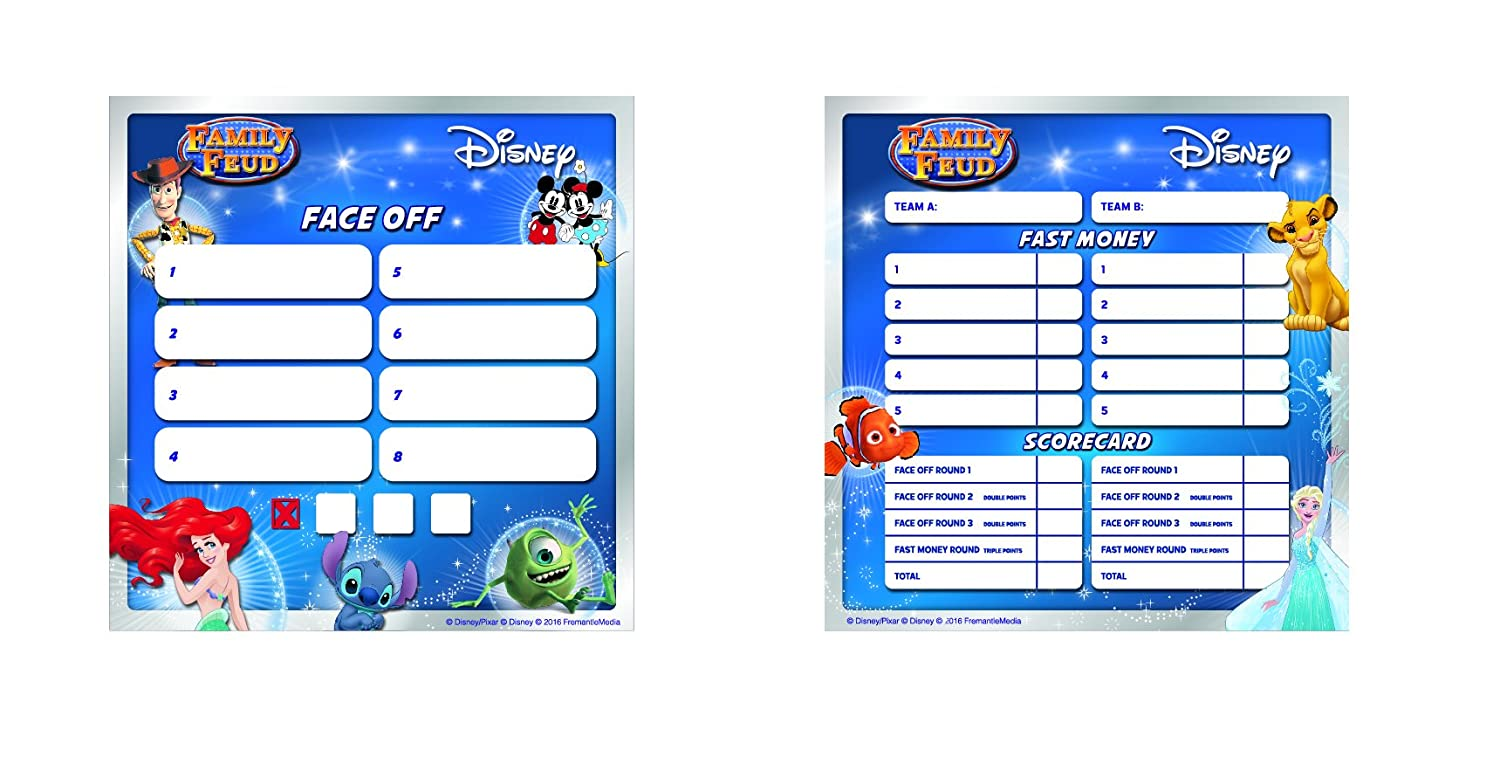 image relating to Guess the Disney Movie Song Printable named Disney Spouse and children Feud Signature Sport