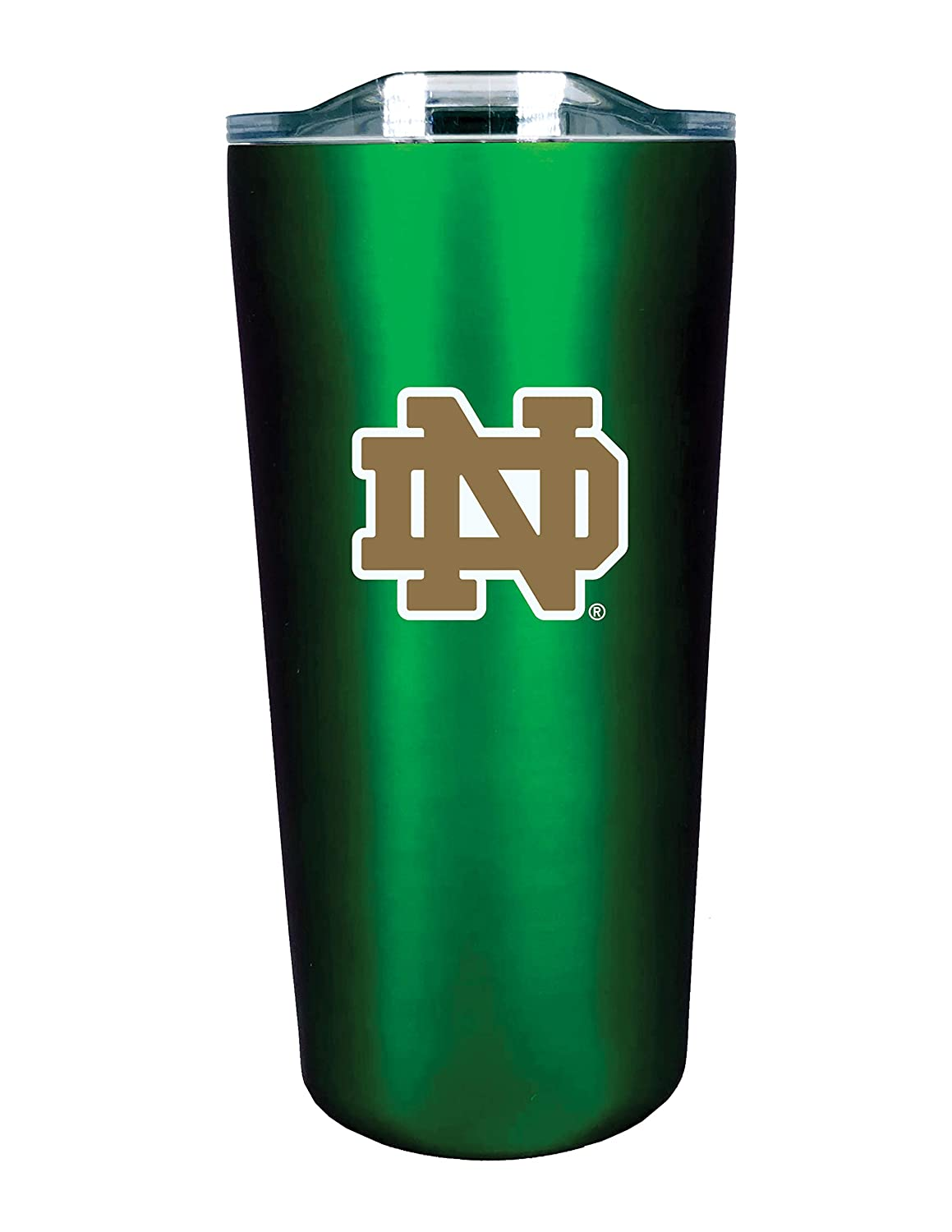 Design-2 Green The Fanatic Group Personalized Notre Dame Double Walled Soft Touch Tumbler