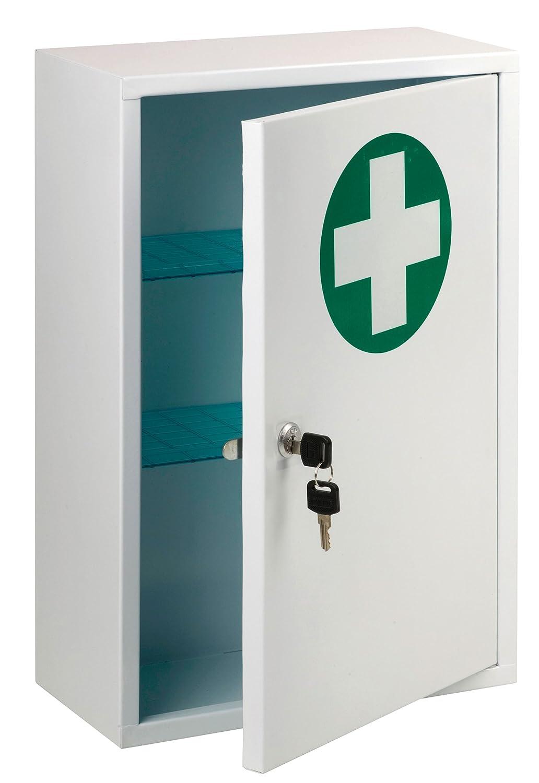 St John Ambulance Lockable First Aid Cabinet: Amazon.co.uk: Health ...