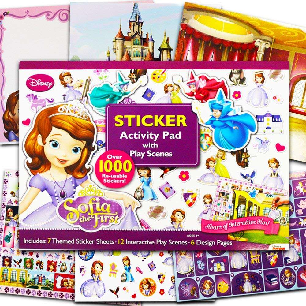 Bendon Disney Sofia The First Ultimate Sticker Activity Pad