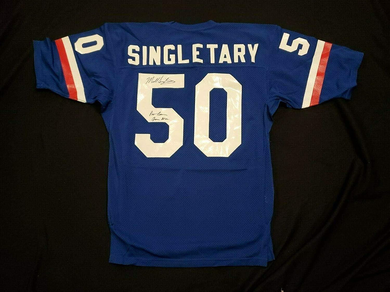 1984-87 Mike Singletary Autographed Game Worn Pro Bowl Jersey ...