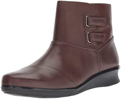 b2ec22e38a67 CLARKS Women s Hope Cody Fashion Boot Brown Leather 050 ...