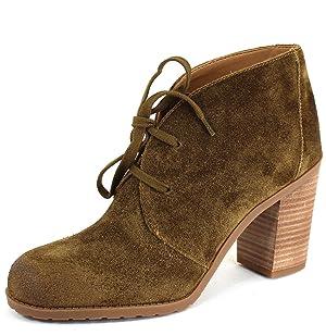 Franco Sarto Women's Nashville Desert Khaki Synthetic Boots 6.5 B(M) US