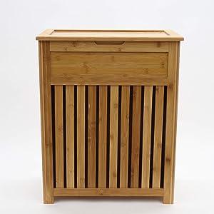 Redmon 5453 Hamper, Bamboo