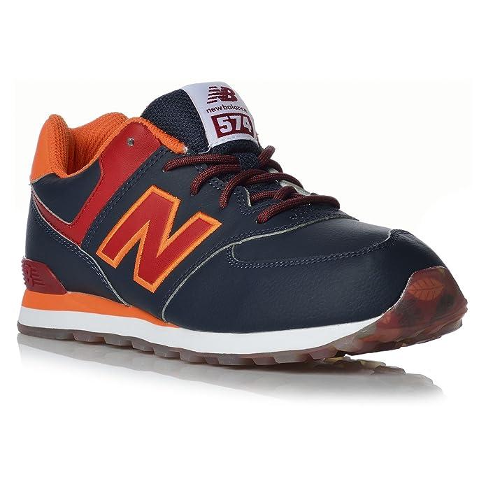 Zapatilla casual niño New Balance KL 574: Amazon.es: Zapatos y complementos