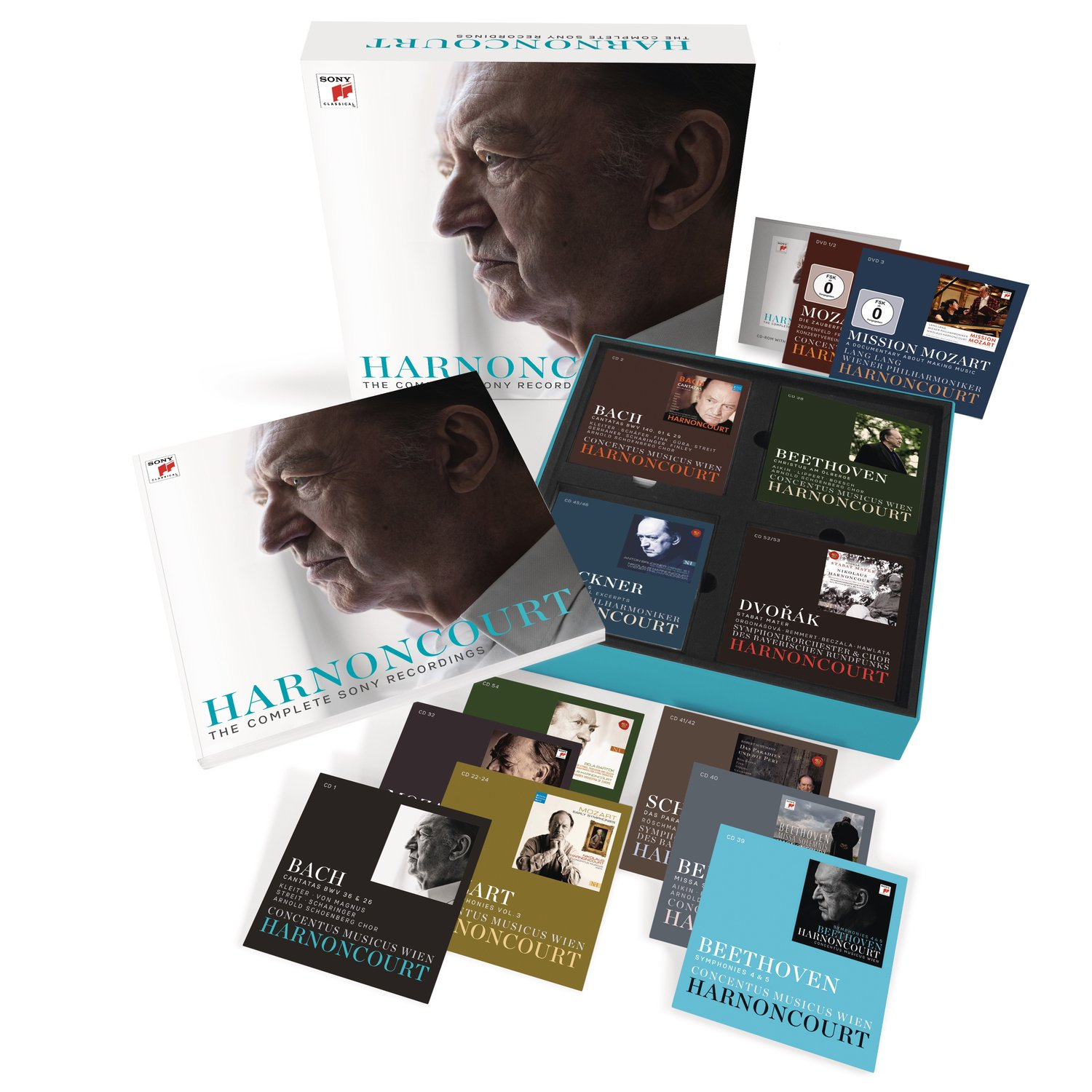 Nikolaus Harnoncourt Various The Complete Voucer 3second 30 Persen Sony Recordings Music