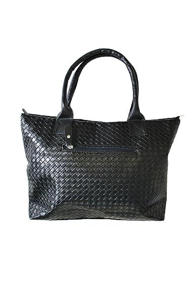 f99d44edfb69 Amazon | (ロハス) LOHAS編み込み風PUレザートートバッグ/メンズ/鞄 ...