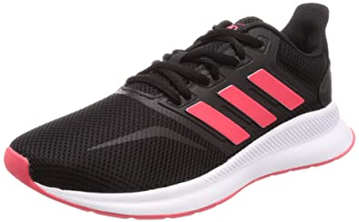 e9196113c6f06 Image Unavailable. Image not available for. Color: adidas Women's Runfalcon  Running Shoes Nero Core Black/Shock ...