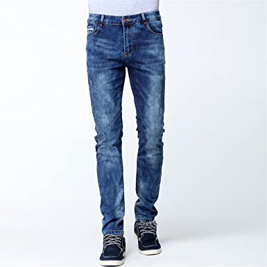 c7873fcf8d7 Amazon.com  Carol Chambers Mens Ripped Stretch Jeans Homme Fashion ...