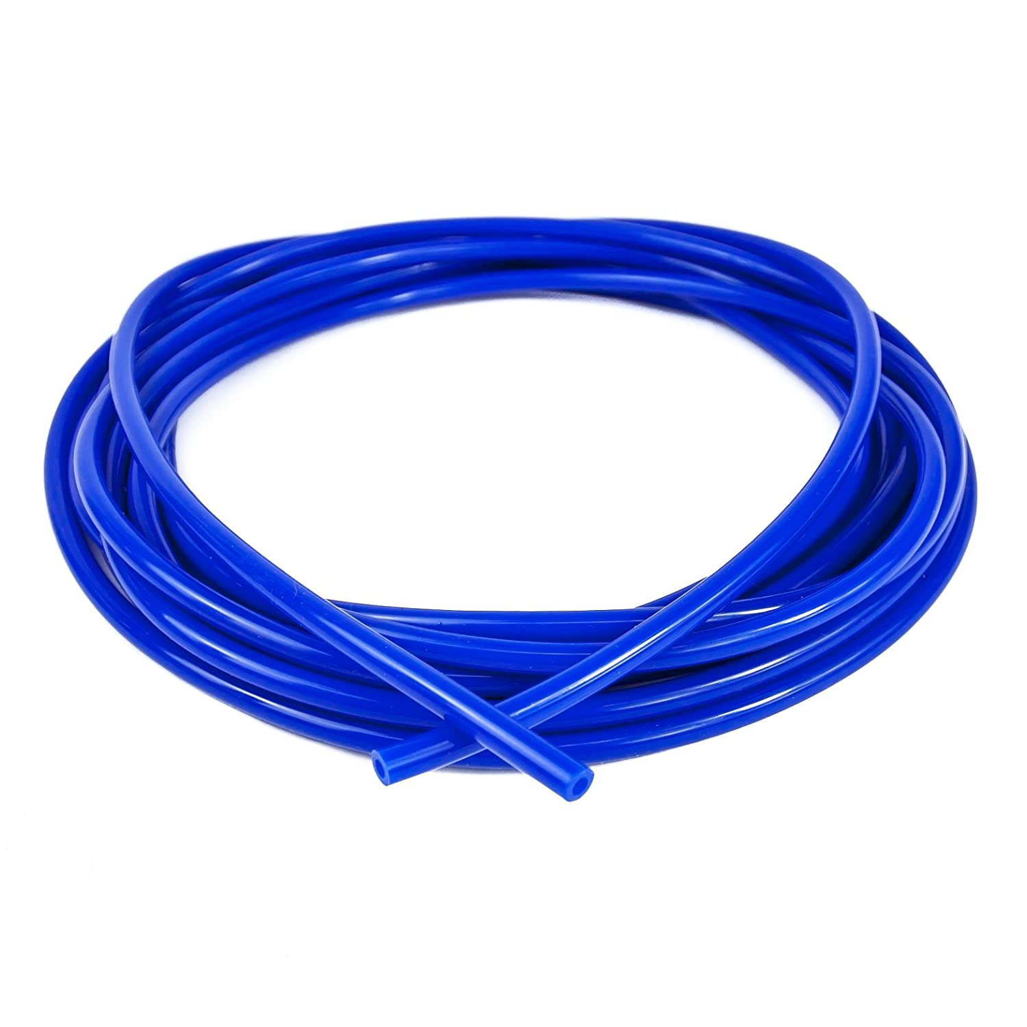 Ramair Filters VAC4MM-10M-BL Silicone Vacuum Hose, Blue, 4 mm x 10 m