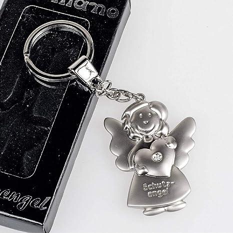 Schlüsselanhänger Schutzengel Mit Herz Engel Anhänger Für Auto Schlüssel Küche Haushalt