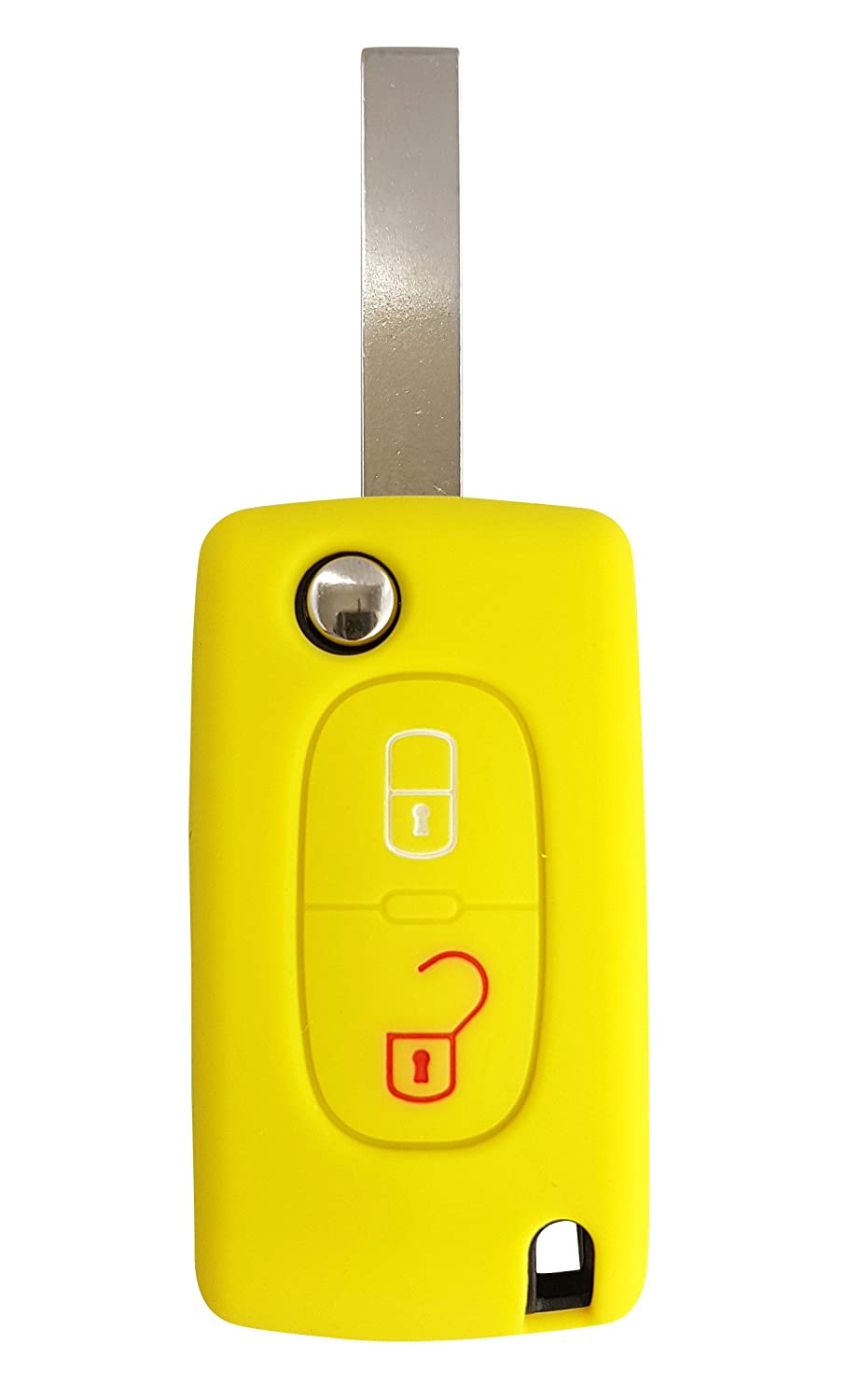 CK Key Case Case Silicone for 207 307 308 5008 Peugeot car key cover