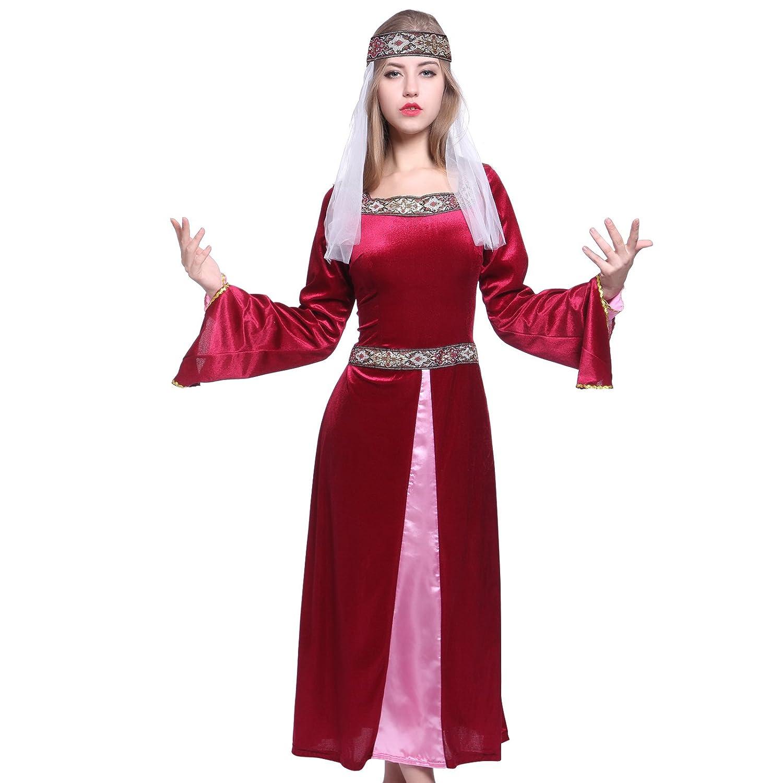 Amazon.com: Maid Marion Ladies Medieval Robin Hood Fancy Dress ...