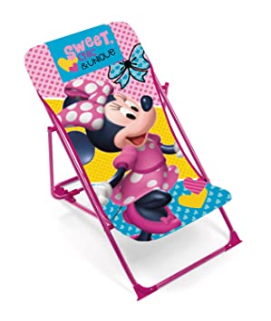 Longue Rose Gb Chaise Disney Siesta Minnie Mouse Leisure pSVUzM
