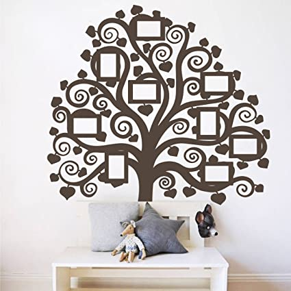 Amazon Com Giant Family Tree Picture Wall Decal Home Decor Vinyl