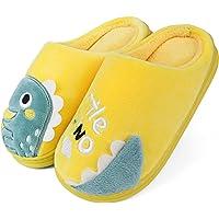 Zapatillas de Estar por casa para Niña niño Dinosaurio Pantuflas Peluche Zapatos Invierno Niña niño