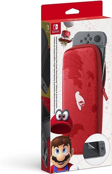 Nintendo - Funda S.M.Odyssey Edition + Protector LCD (Nintendo ...