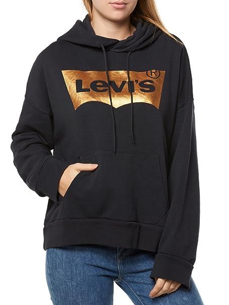 Levis ® Oversized W Sudadera con capucha caviar