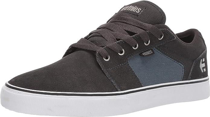 Etnies Barge LS Sneakers Skateboardschuhe Herren Dunkelgrau/blau