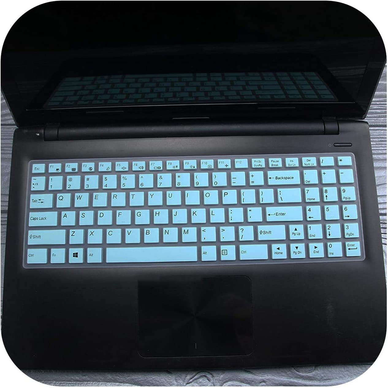 Pink Silicone Keyboard Cover Protector Skin for 15.6 for Lenovo Ideapad 100 Ideapad 100 15 100 15Ibd B50 10 B50 50 80S2 Laptop