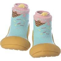 Attipas Ice Cream Baby Walker Shoes, Mustard, Medium