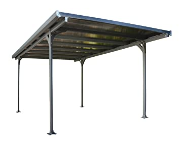 Amazon.com: Palram Verona 5000 Carport And Patio Cover   16u0027 X 10u0027: Garden  U0026 Outdoor