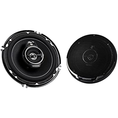 "Kenwood KFC-1695PS 320W 6.5"" 3-Way Performance Series Flush Mount Coaxial Speakers"