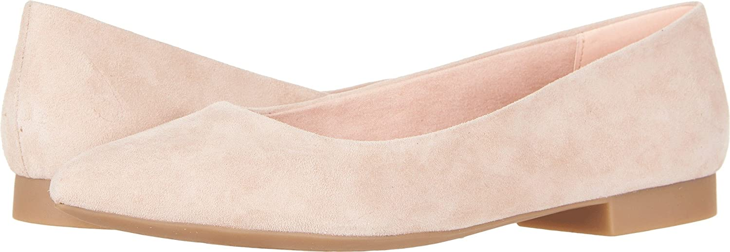 Bella Vita Women's Vivien Flat B076QDKXNN 8 B(M) US|Blush Kid Suede Leather