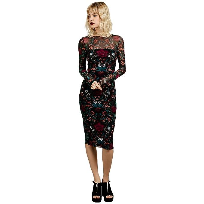 gamme complète d'articles vente chaude pas cher grande variété de styles Volcom Women's Keep It Fly Long Sleeve Midi Dress