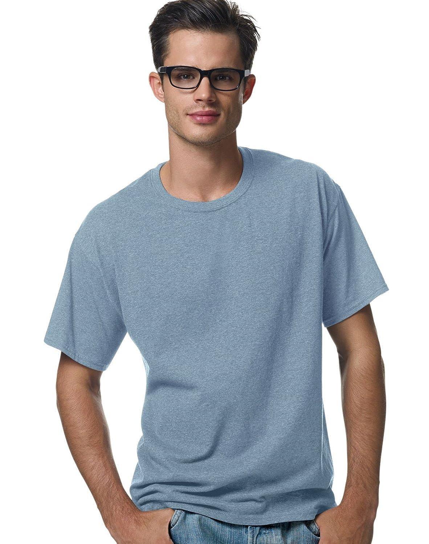 Hanes ComfortBlend;Crewneck Mens T-Shirt/_Stonewashed Blue