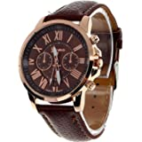NYKKOLA Male Quality Leather Belt Casual Fashion Watches Three Six-Pin Quartz Watches Quartz Watch