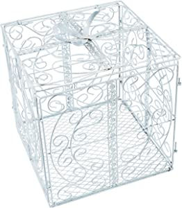Fun Express Metal Gift Box CARDHOLDER - Home Decor - 1 Piece