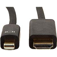 AmazonBasics Mini DisplayPort to HDMI Cable - 3 Feet(0.91m)