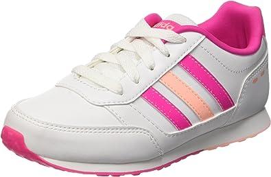 Adidas Vs Switch K, Zapatillas de Running para Niñas, Ftwwht/Ltflor/Shopin, 32 EU: Amazon.es: Zapatos y complementos