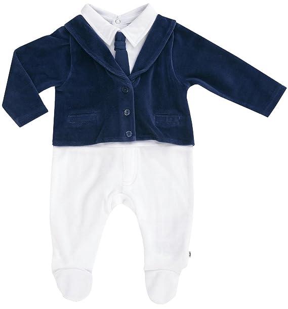 JACKY taufanzug Pelele Bautizo taufs Tram pler Nikki einteilig nuevo blanco/azul 68 cm : Amazon.es: Ropa y accesorios