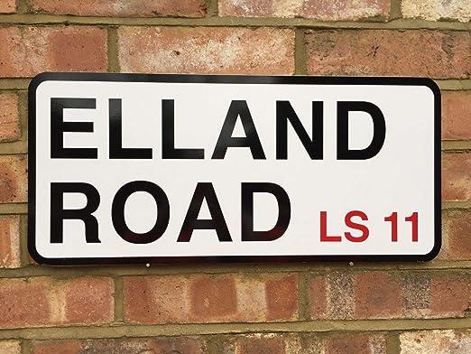 Leeds United Elland Road Street Sign