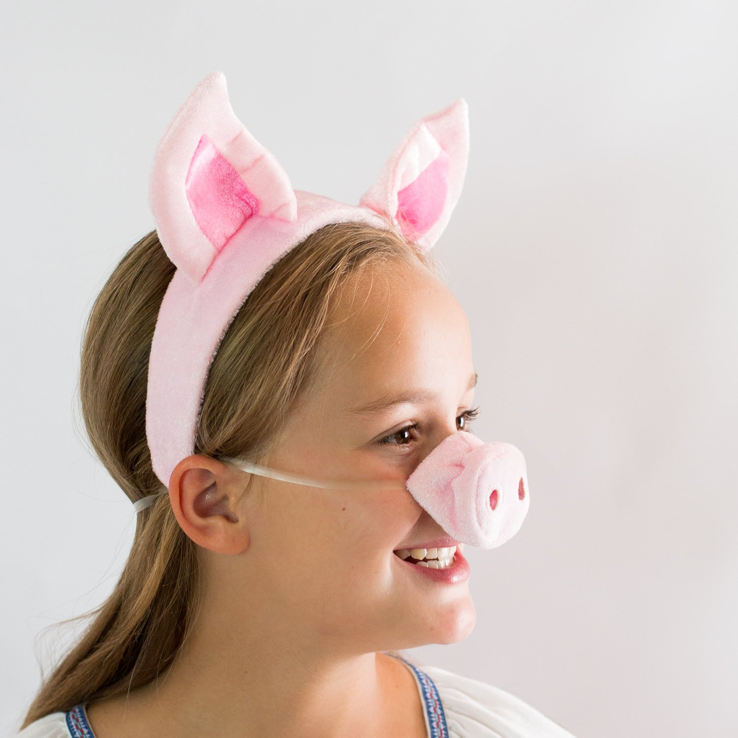 sc 1 st  TIBS & Pig Ears Nose and Tail Set - Costume Accessories - TIBS