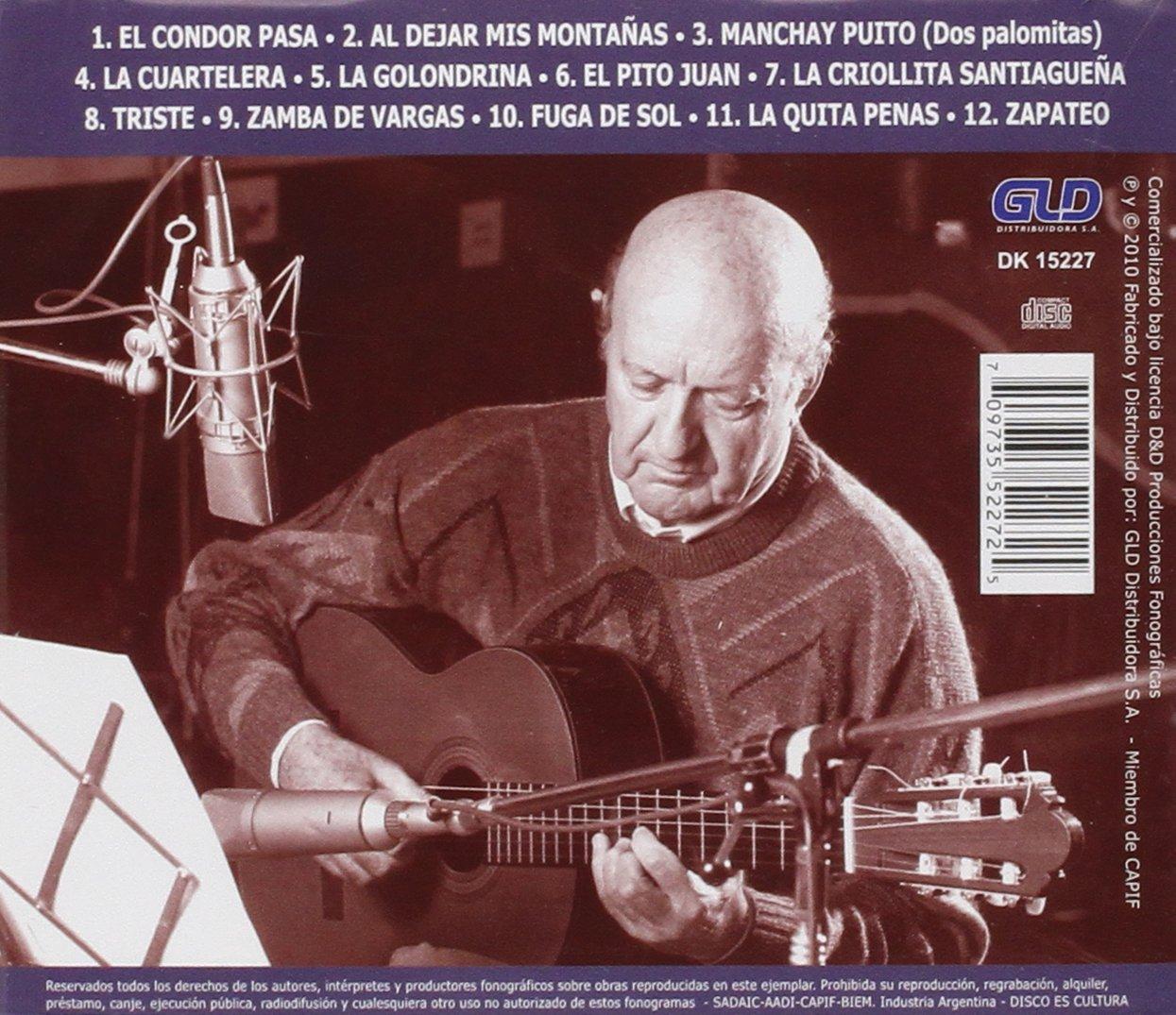 Solos de Guitarra: Eduardo Falu: Amazon.es: Música