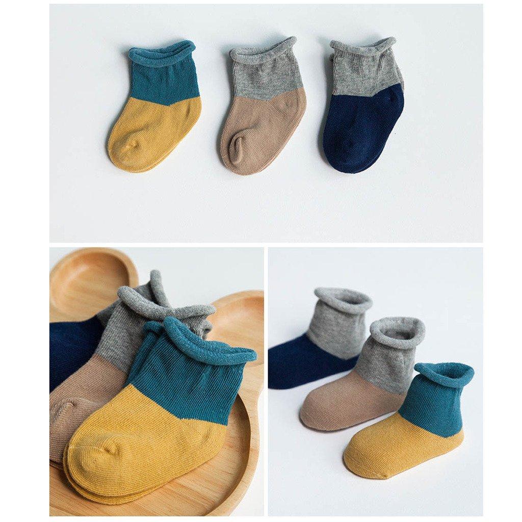 Baby Socken Erstlingss/öckchen 6er Set Gemischtes Paket B XS FYGOOD Unisex 0-6 Monate