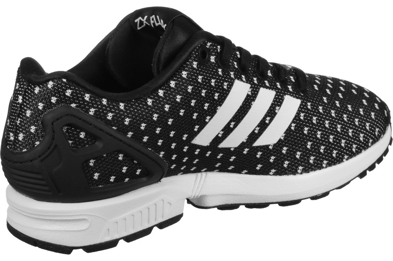 adidas ZX Flux Calzado 46 2/3 EU|Negro Blanco