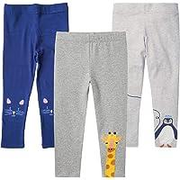 EmaoFun Leggings para Niñas Chicas Estampado, Stretch Pantalón para 2-7 Años