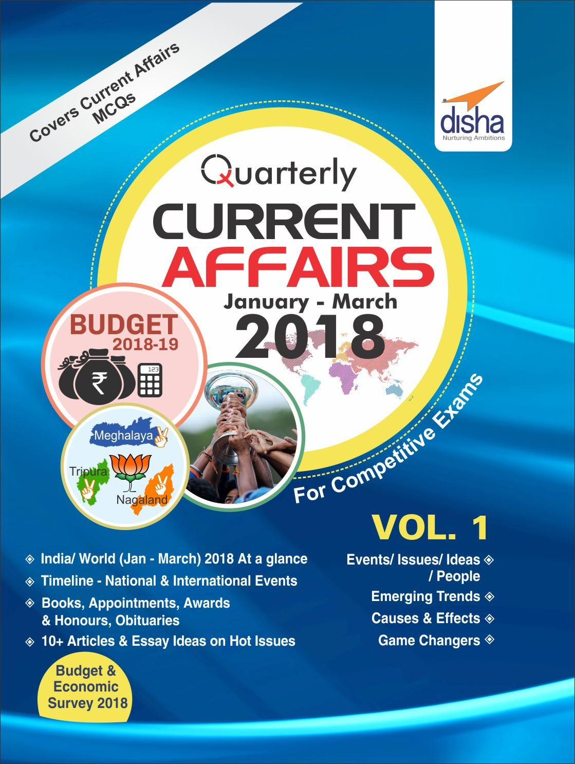 Buy Quarterly Current Affairs - January to March 2018 for