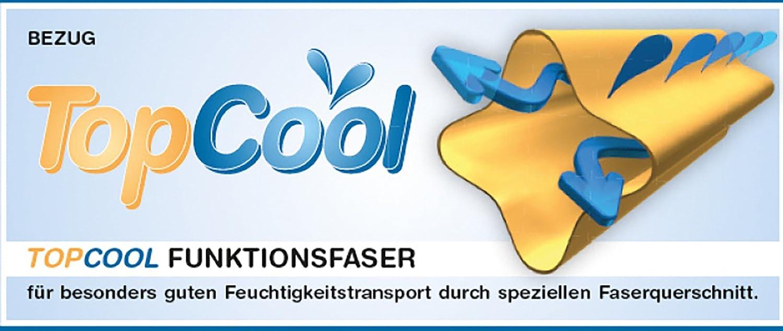 mit atmungsaktiver Funktionsfaser 40 x 80 cm Traumnacht TopCool Kopfkissen Doppelpack