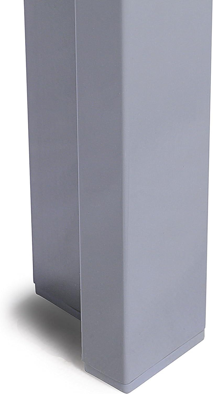 90 x 90 cm Grigio Vanage VG-5142 Tavolo da Giardino