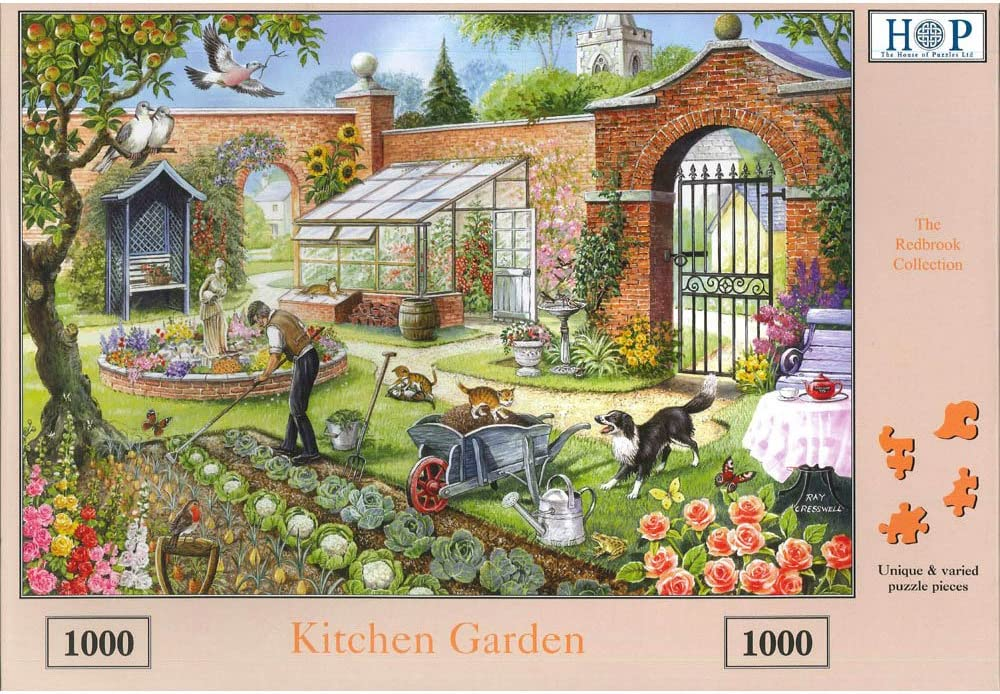 1000 Piece Deluxe Jigsaw Puzzle The