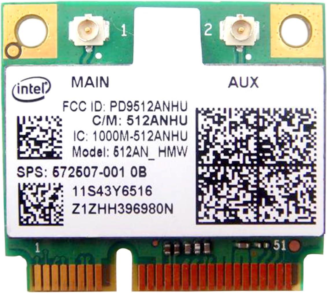 Intel 5100 512an_hmw Half Mini Pci-e WLAN WiFi Wireless Card 572507-001 for HP Laptop