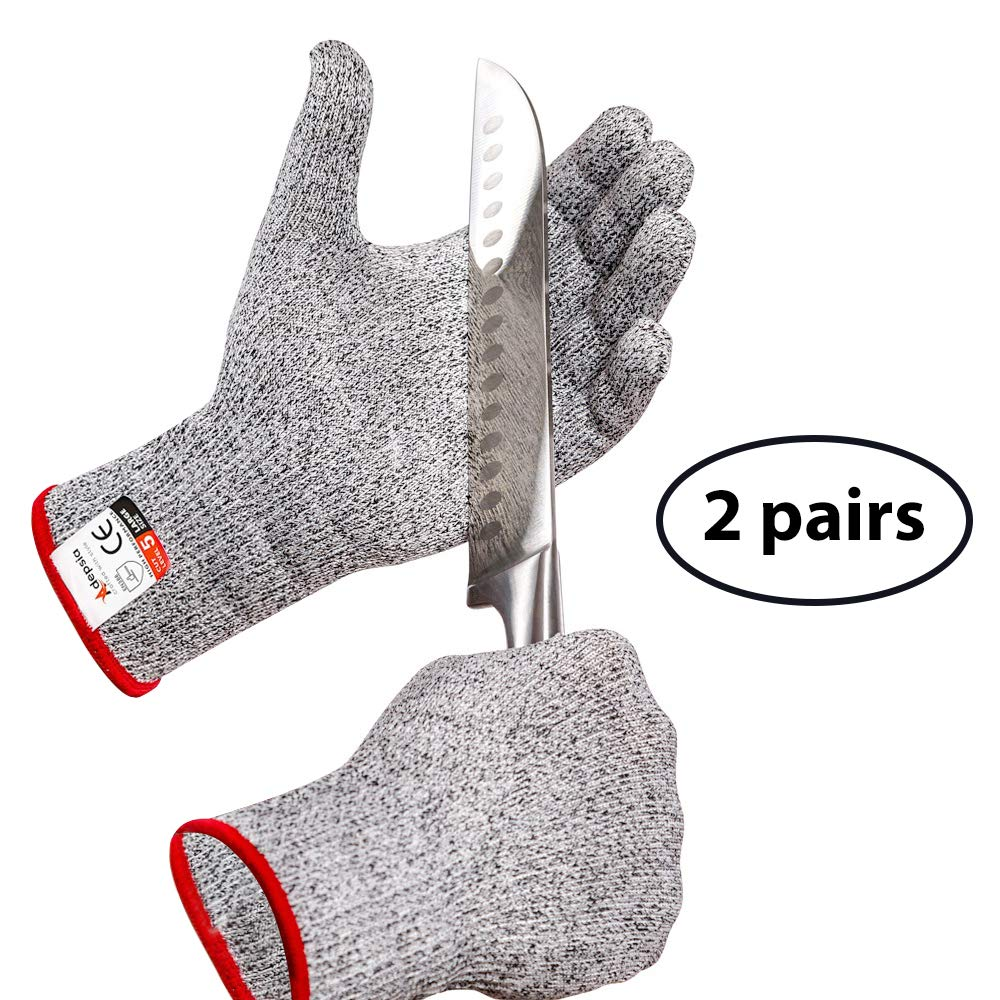 Anti-cut Gloves Safety Cut Proof Stab Resistant Stainless Steel Wire Metal Mesh Level 5 Protection Safety Kitchen Cuts Gloves To Win Warm Praise From Customers Self Defense Supplies