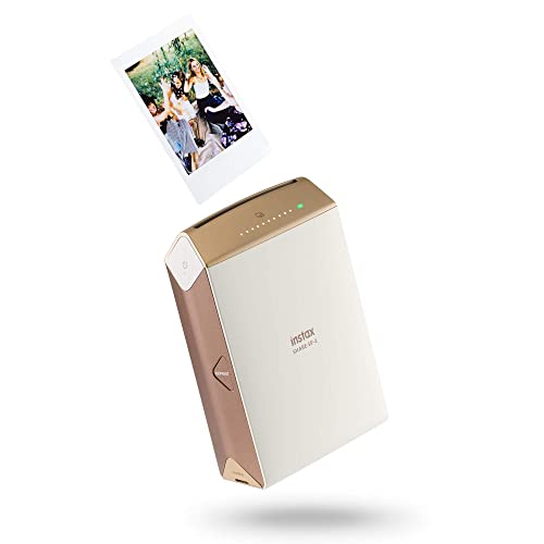 Instax Share 70100133982 Photo Printer with 10 Shots - Gold