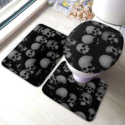 tapis de bain tête de mort 2